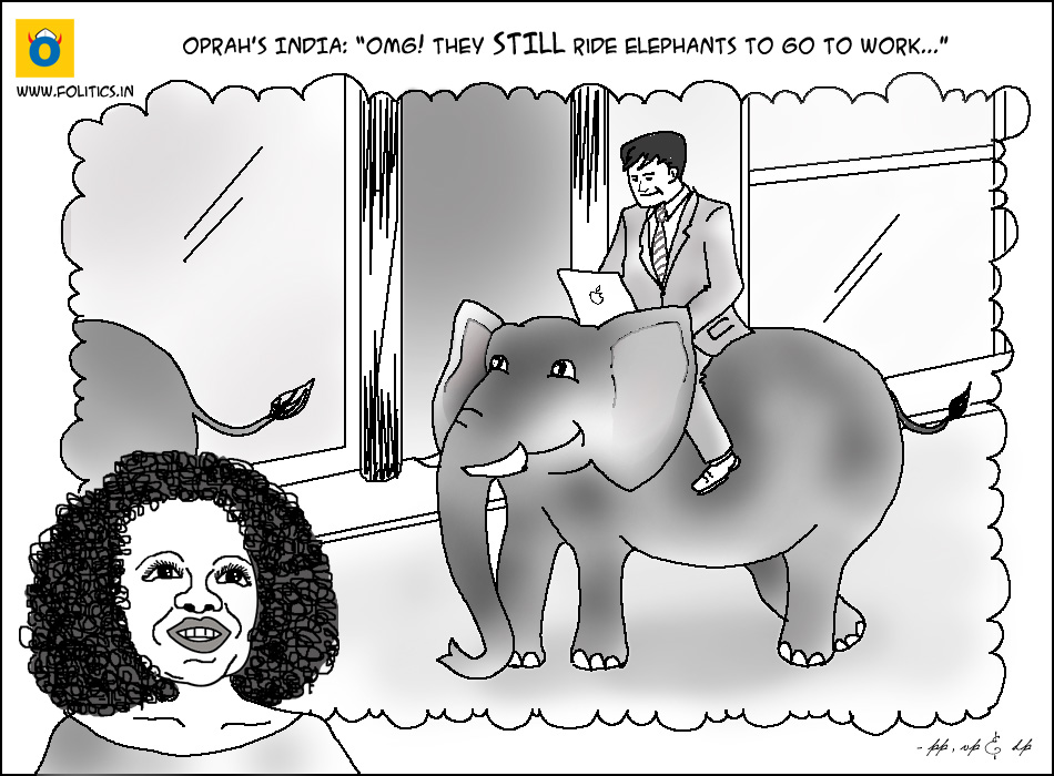 Next Chapter: Oprah's India!!