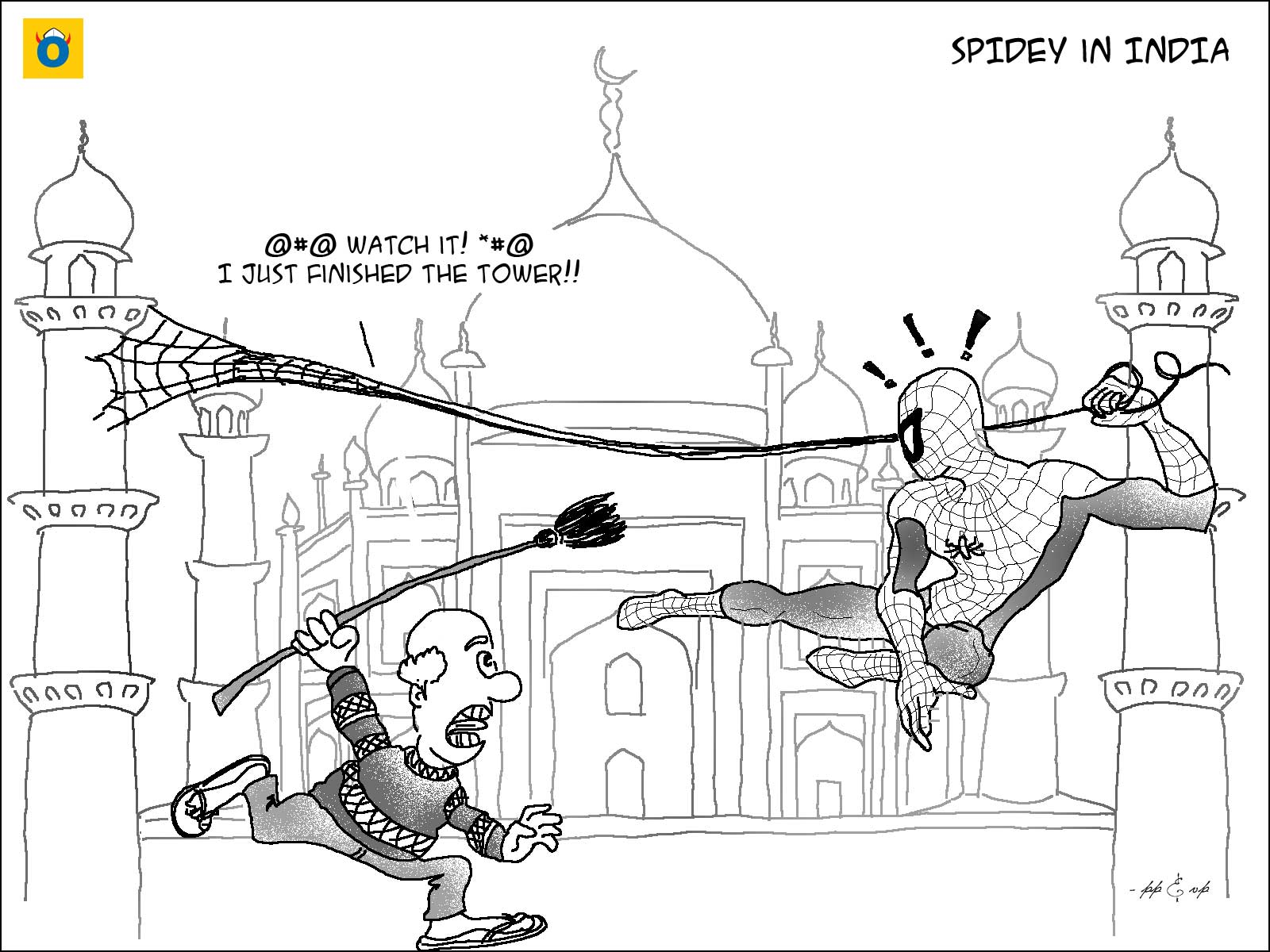 Misadventures of the Amazing Spiderman