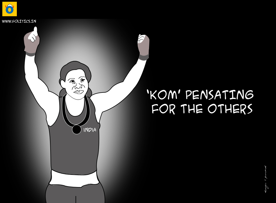 Mary Kom wins bronze, and a billion hearts; to return as India's golden girl